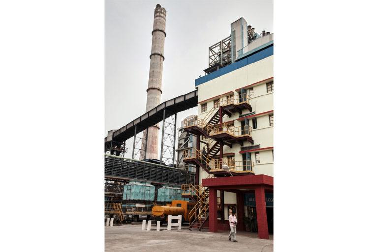 Neyveli Lignite Corporation, now renamed NLC India, a power plant in Cuddalore, Tamil Nadu. Photo by Amirtharaj Stephen/PEP Collective.