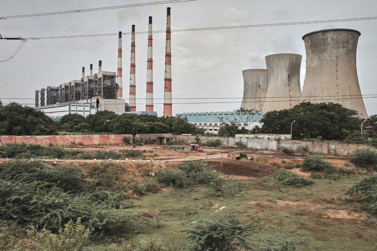 NLC India Limited power plant in Cuddalore, Tamil Nadu. The boiler blast on July 1 has claimed the lives of 13 workers till now. Photo by Amirtharaj Stephen/PEP Collective.