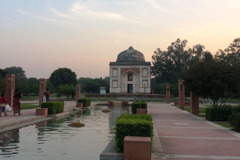 Sundar Nursery, where the British had maintained many tree species before planting them in Lutyens' Delhi. Photo by Deepanwita Gita Niyogi.