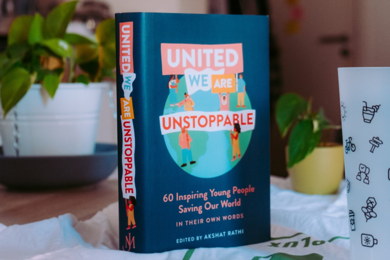'United We Are Unstoppable' book cover