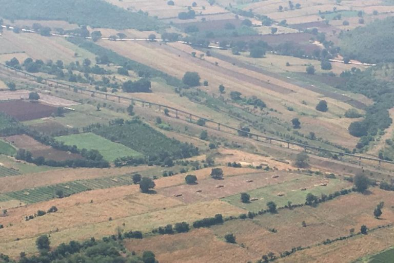 An aerial shot of the Ballari area. Photo by Ambrish B.