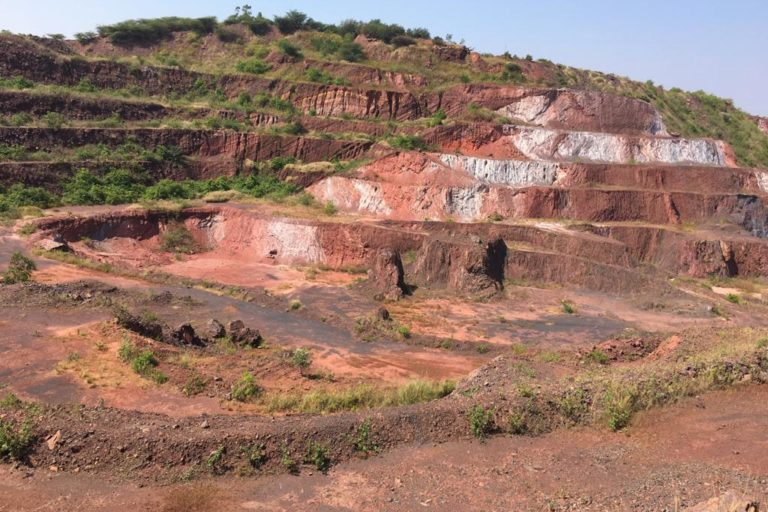 A picture of the iron ore mines in Ballari district. Photo by Ambrish B.