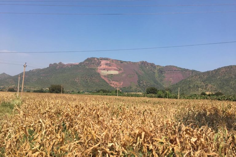 Mining in Ballari has taken a severe toll on agriculture in the area. Photo by Ambrish B.