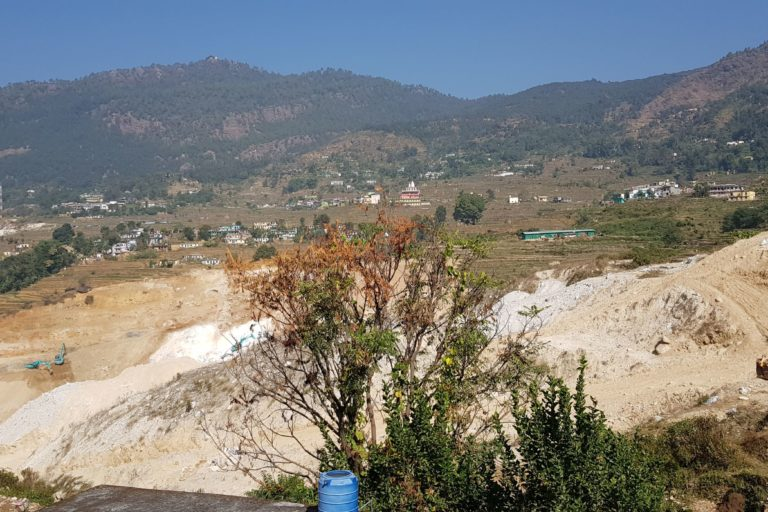 For soapstone mining in Reema valley, the state government has sanctioned 90 mines in the Bageshwar district. Photo by Hridayesh Joshi.