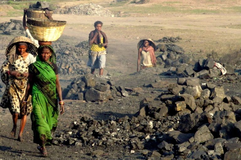 Lives of local people are directly or indirectly linked to coal mining-related work. Photo by Srestha Banerjee/iFOREST.