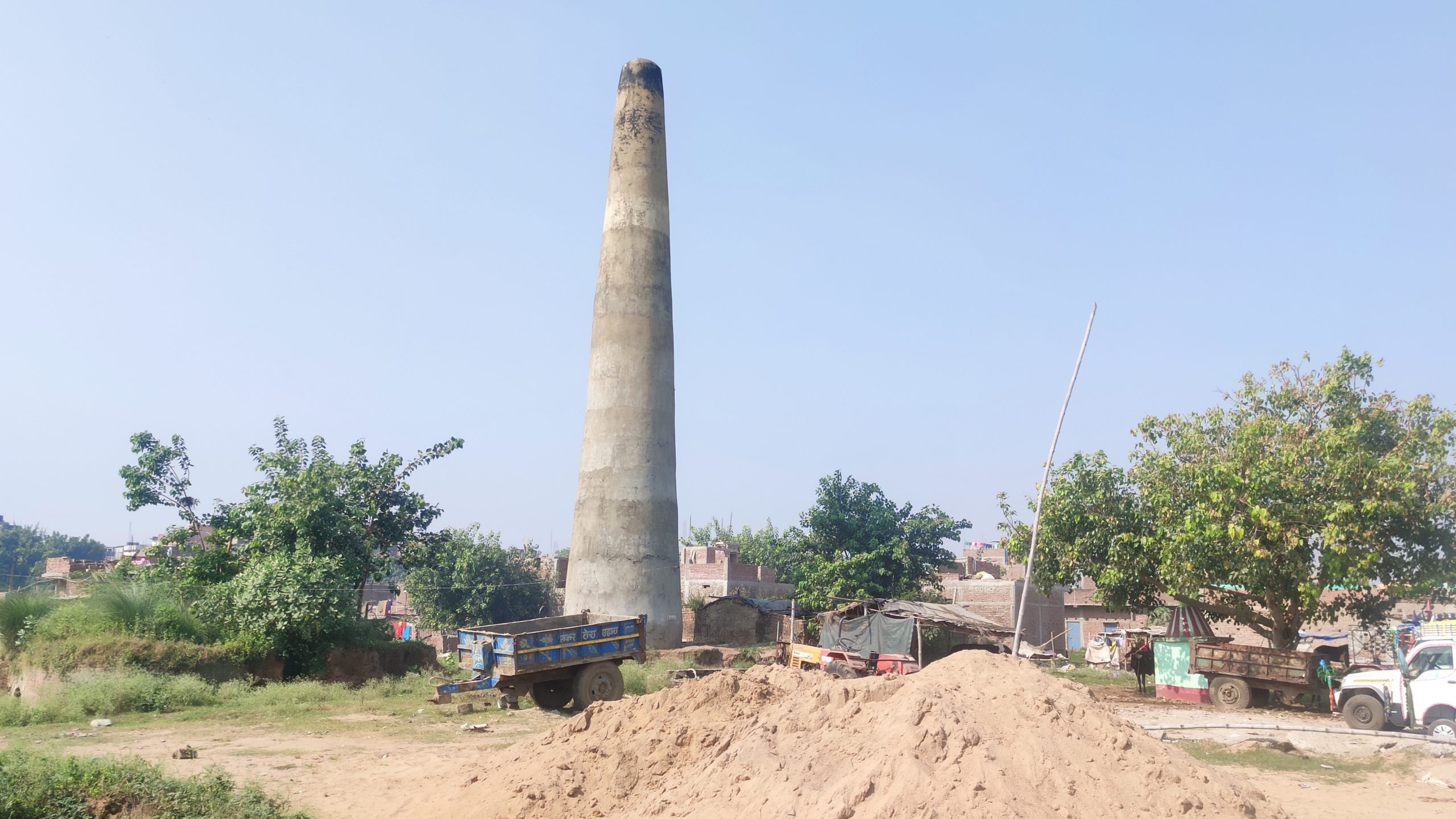Brick kilns are the major source of air pollution in Bihar Photo Samir Verma