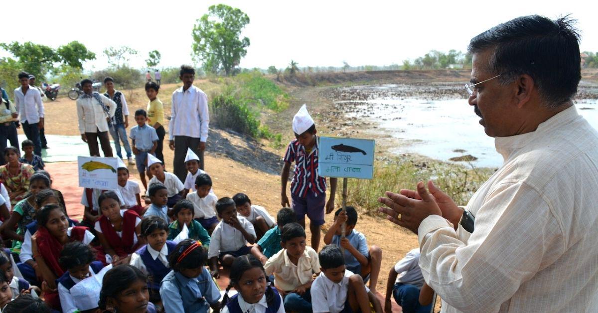 Bhandara-Gondia region had 15,000 lakes (locally referred as talaos or tanks ) that were extensively used for irrigation and fishing. Photo from Bhandara Nisarga Va Sanskruti Abhyas Mandal.