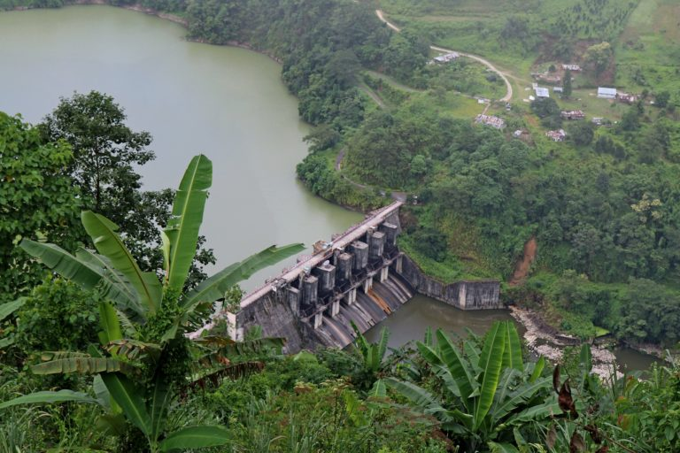 An image of the Ranganadai Dam in Arunachal Pradesh. It is estimated that Jammu and Kashmir has the potential to produce over 16,000 MW of hydropower. Photo by Karen Conniff/Flickr.