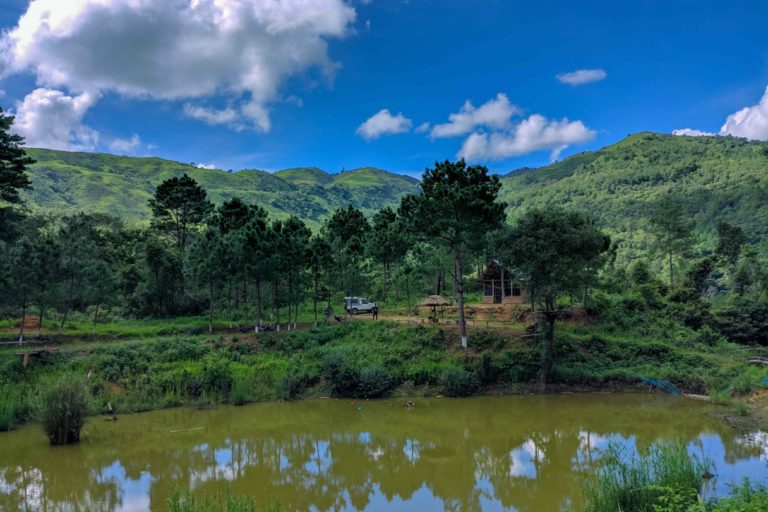 A natural lake maintained by the community as a water reservoir and for fisheries. It is also one of the sites of orchid plantation area. Photo by Phalee BMC.