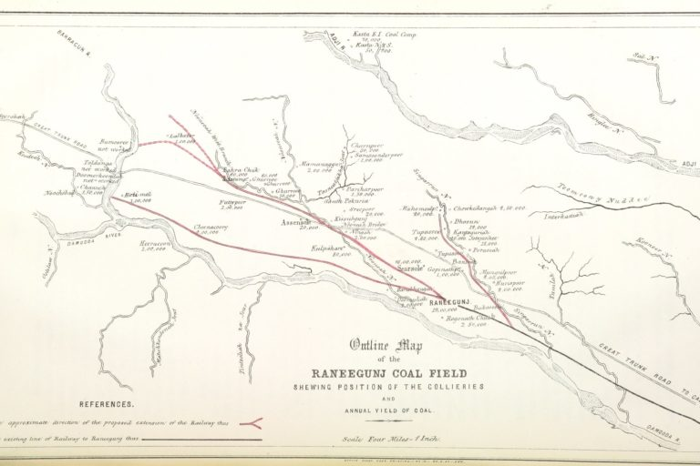 Raniganj coalfield is India's oldest coal mining area. Photo by British Library/Flickr.