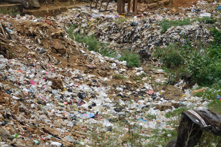 Non-biodegradable menstrual waste ends up in landfills where waste pickers segregate them manually.