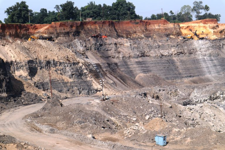 A coal-mined area in the Talcher region. Photo by Pramit Karmakar.