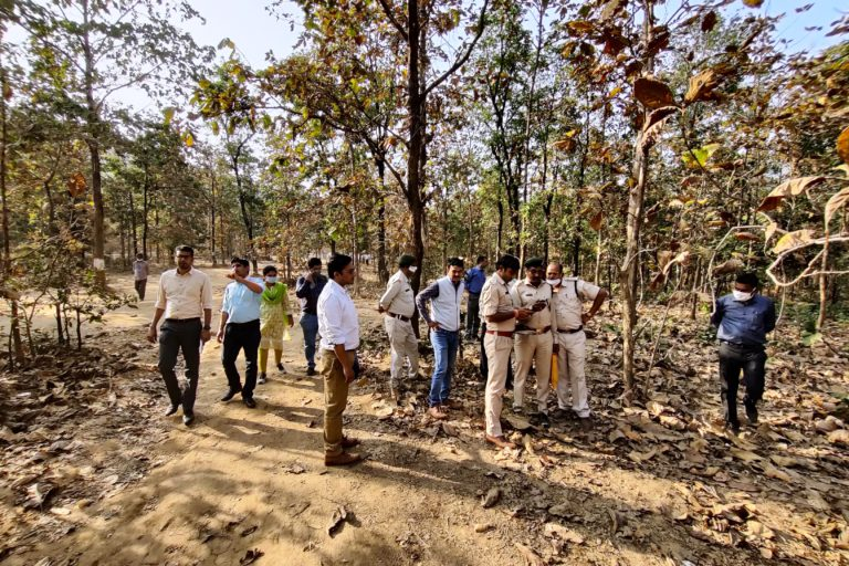 In total, 121 wildlife corridors have been identified across Chhattisgarh for the Strategic Plan for Conservation of Corridors. It is the first state to identify corridors for all kinds of wildlife. Photo from Chhattisgarh Forest department.
