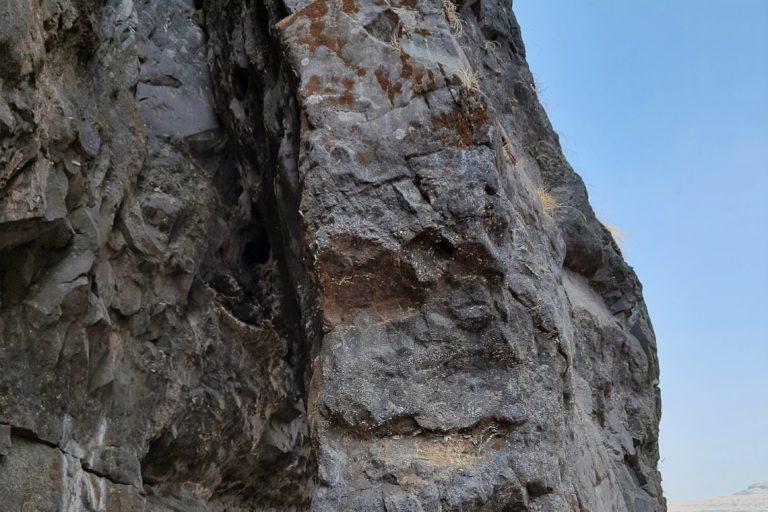 Basaltic boulders are possible habitats of the lithophilic scorpions. Photo credit Shubhankar Deshpande