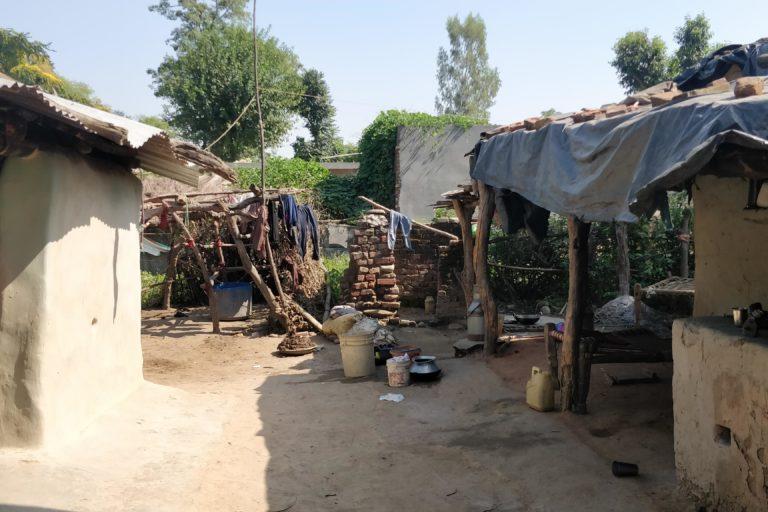 A Tongia house in Uttar Pradesh's Pelo Khurd village. Photo by Devyani Nighoskar.