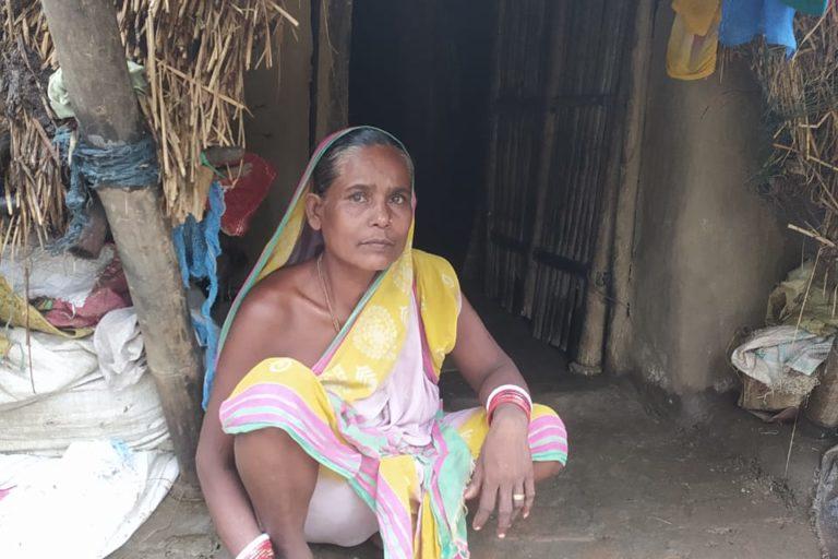 Sukumari's mother-in-law, Debokhi Jena. Photo by Naresh Rout, Pragati Jubak Sangha.