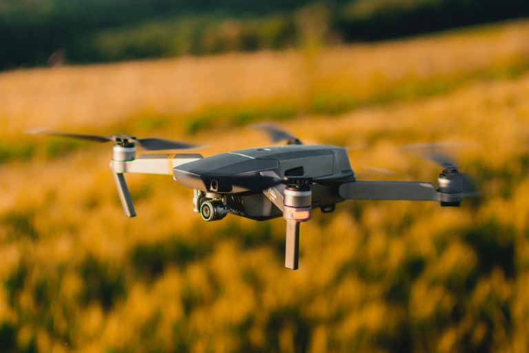 Adoption of drones for data collection and application of agricultural inputs is likely to trigger new service models for agri-tech companies. Photo by Gautier Salles on Unsplash.