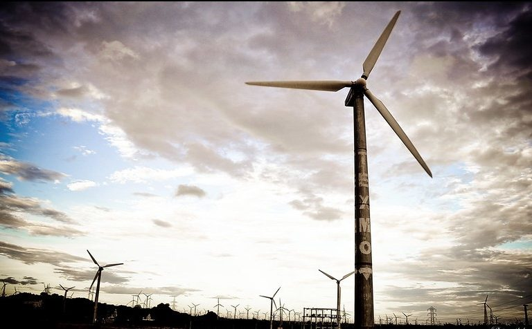 The growth of wind power has slowed down in India due to various factors. Photo by Rakesh Ashok/Flickr.