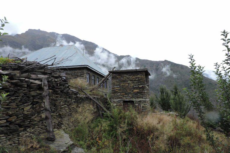 Two storied dru toilet in Himachal Pradesh. Photo by Rakshak Kumar Acharya.
