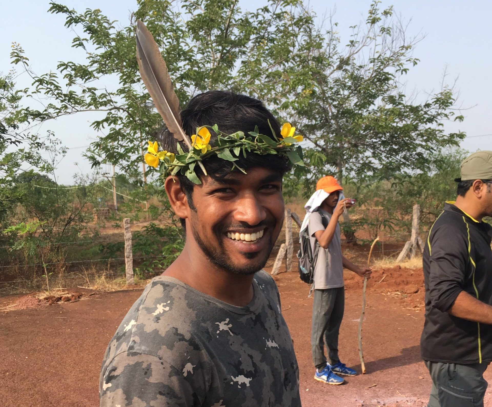 Ramesh, a third-generation farmer who worked in the field of wildlife conservation, found his calling in permaculture. Photo courtesy Ramesh.