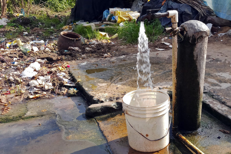 The 24x7 water supply in Puri is expected to minimise water wastage in the city. Photo by Tazeen Qureshy.