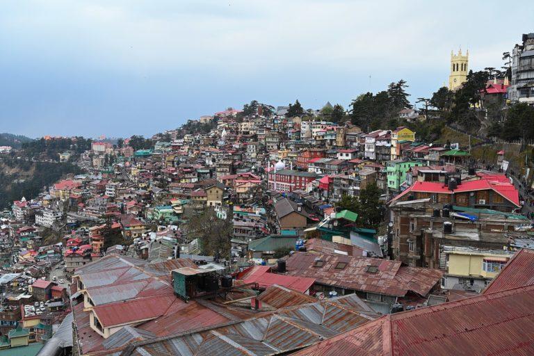 Shimla, Himachal Pradesh. Photo by Navneet Sharma/Wikimedia Commons.