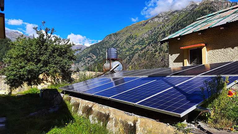 Due to lack of awareness there are a very few takers for this scheme. The applications received by the state government for the scheme stood at 1,242 against the plan of giving solar plants to 10,000 individuals by March 2022. Photo by Varsha Singh