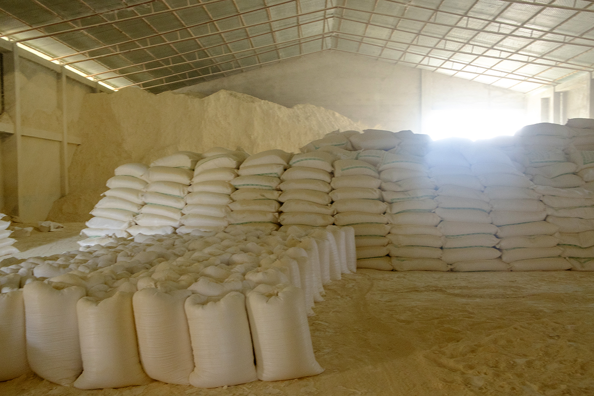 China clay or white clay or kaolin is used in manufacturing some of our essential items: cement, ceramic, plastic, paints, and much more. Photo by Subhrajit Sen.