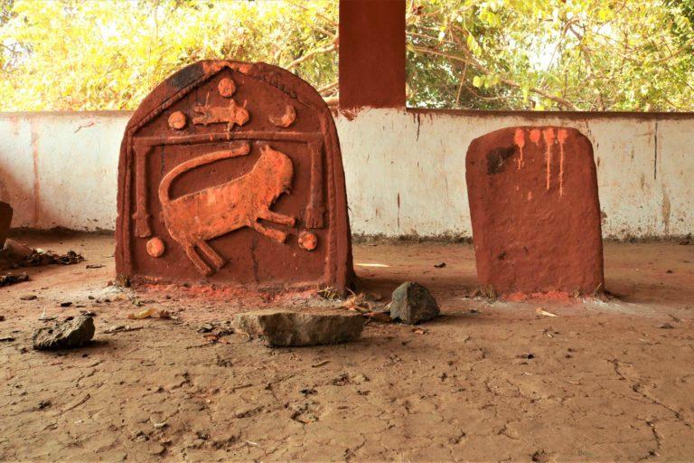 A Waghoba Shrine at Varwade in Talasari, Maharashtra. Photo by Ramya Nair/Project Waghoba.