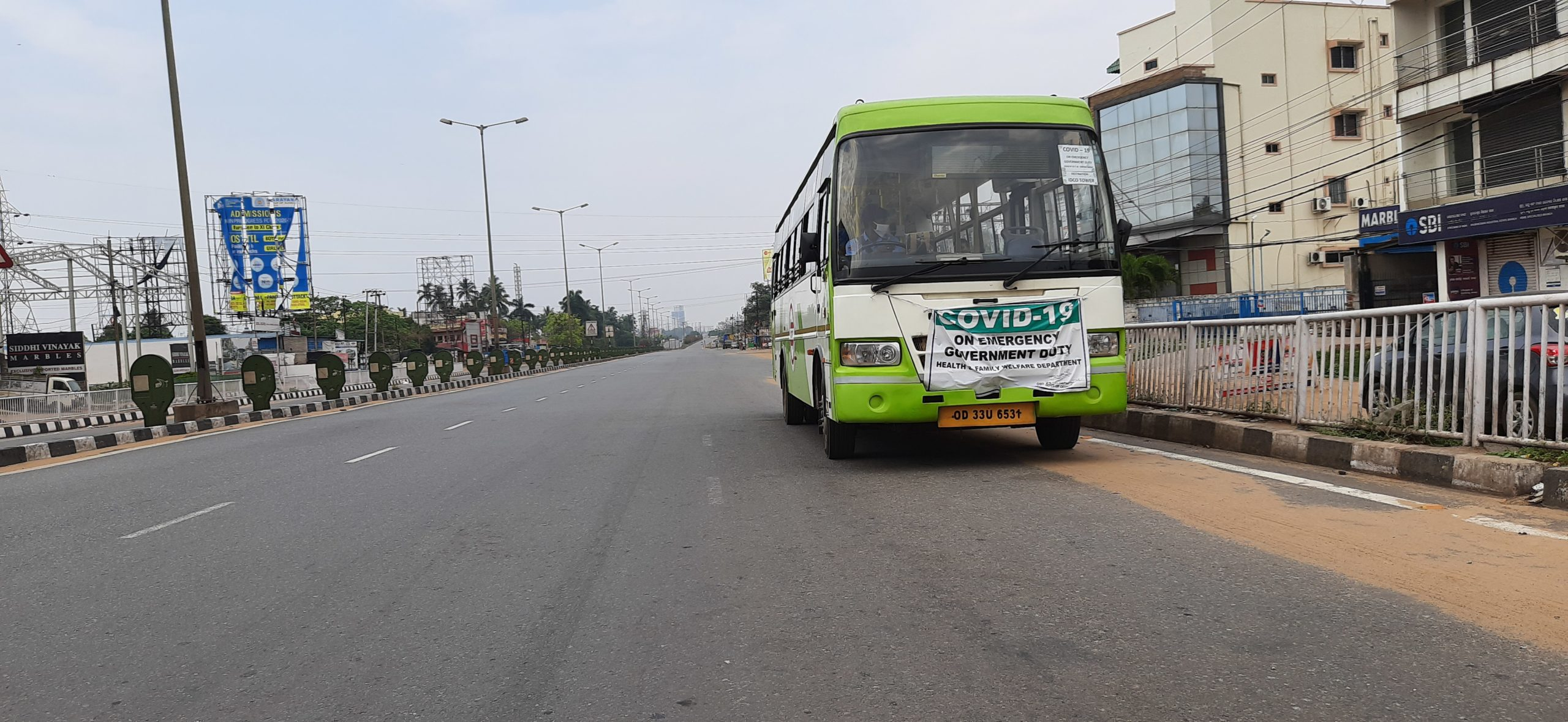 Mo Bus, the public bus service of Bhubaneswar and Cuttack is all set to see a new fleet of electric buses. Photo by Manish Kumar/Mongabay.