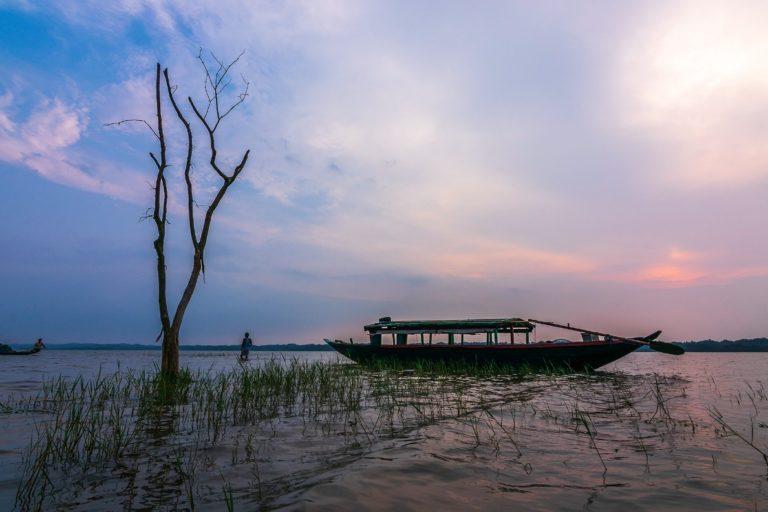 Son Beel, Assam's largest wetland. Photo by Rahul Choudhury.