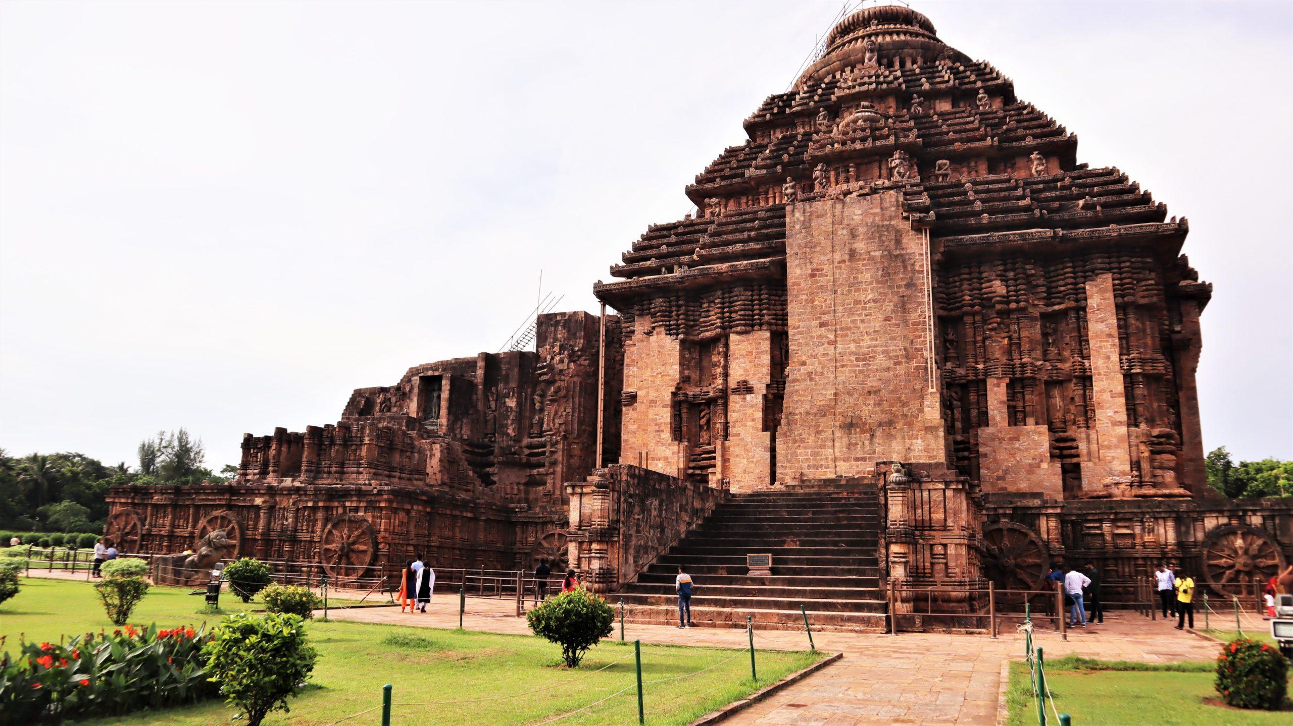 The Konark Sun Temple in Konark. Photo by Manish Kumar/Mongabay.