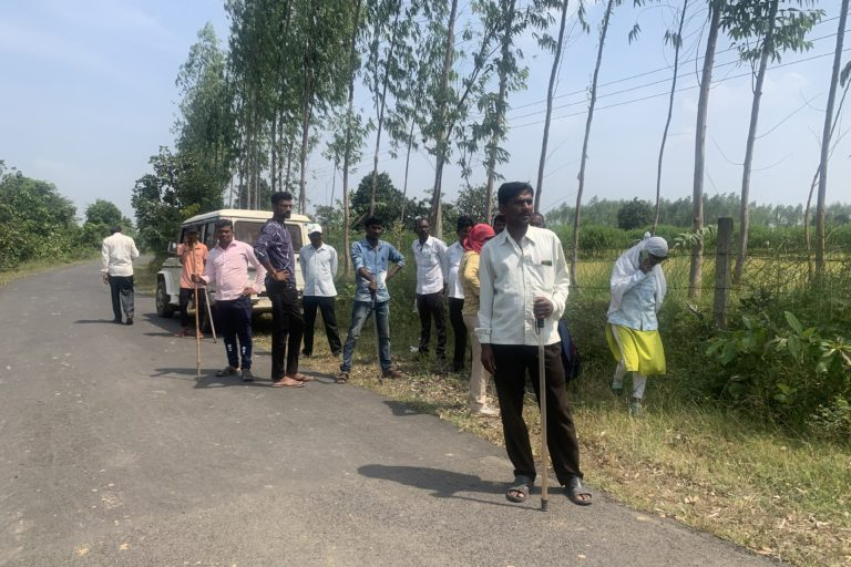 Forest staff before search operation to track tigers begin. Photo by Saurabh Katkurwar.