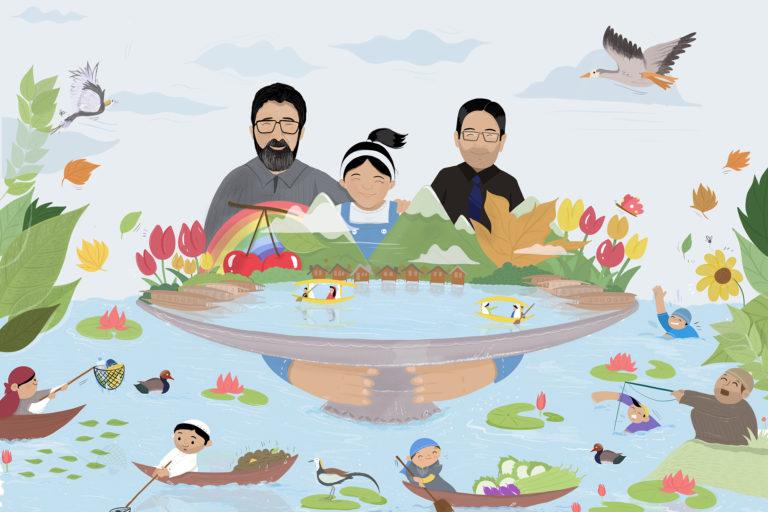 बैनर इलस्ट्रेशन- कश्मीर में जन्मे गजल कादरी ने इस तस्वीर को बनाया है। अब वे अमेरिका में रहते हैं।