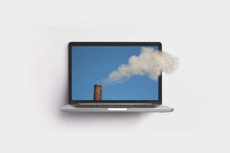 कोविड-19 लॉकडाउन में बढ़े इंटरनेट के इस्तेमाल से भी जलवायु पर असर, पेश है इको फ्रेंडली वेबसाइट की तकनीक