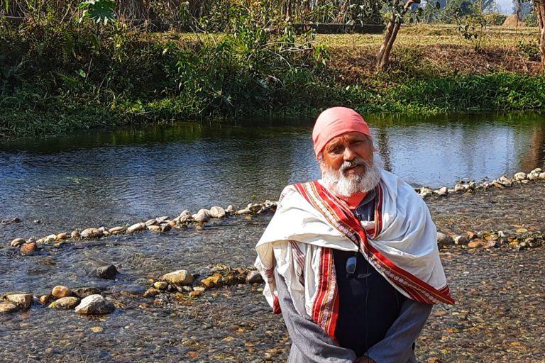 हेस्को संस्था के अध्यक्ष अनिल जोशी। संस्था पर्यावरण से जुड़े मुद्दों पर काम करती है। तस्वीर- वर्षा सिंह