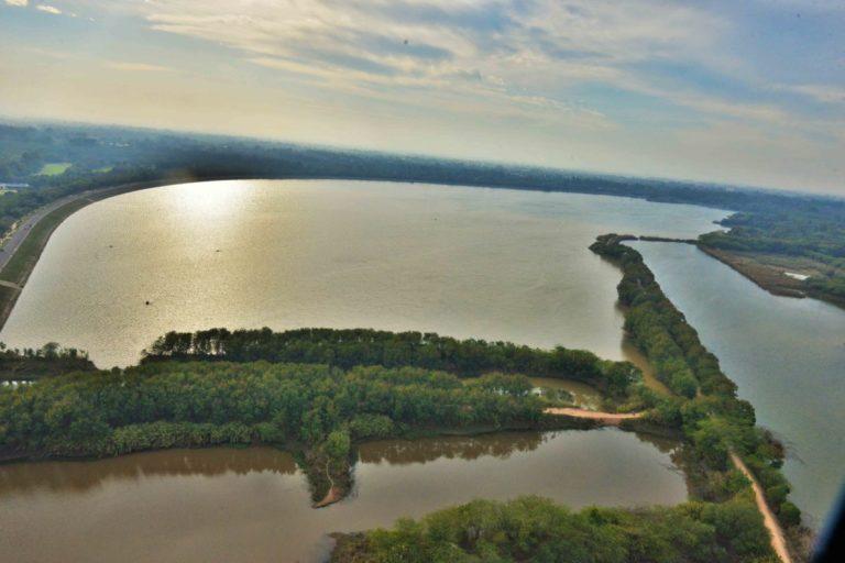 चंडीगढ़ का सुखना झील। तस्वीर- विशेष प्रबंध